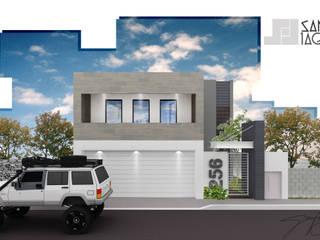 Casas de estilo minimalista de SANT1AGO arquitectura y diseño Minimalista