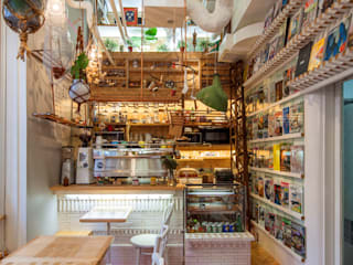 INTERIOR BOOKWORM CAFE의  주방, 에클레틱 (Eclectic)