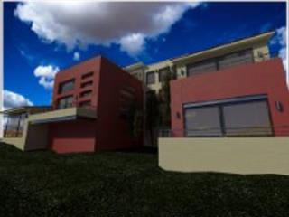 Casas de estilo  por CESAR MONCADA S,