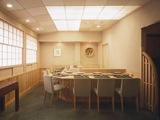 天ぷら鶴吉 オリジナルデザインの ダイニング の 西大路建築設計室 オリジナル