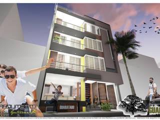 ARQUITECTO JUAN ANDRES GUTIERREZ PEREZ 現代房屋設計點子、靈感 & 圖片