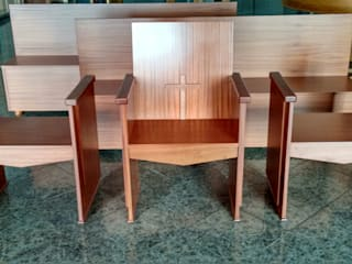 Cooperativa de la madera 'Ntra Sra de Gracia' LivingsMesas ratonas y laterales Acabado en madera