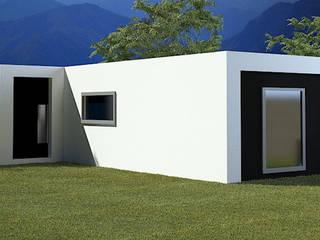 Vivienda Unifamiliar Alella de Anuima - Arquitectura y Construcción Minimalista