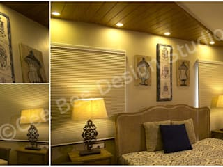 European Country Style Apartment Design in Kolkata Country style bedroom by Cee Bee Design Studio Country