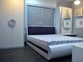 Shah residence : modern Bedroom by Arturo Interiors