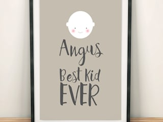 Best Kid Ever personalised print:   by PhotoFairytales