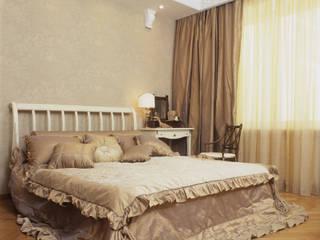 Квартира в стиле ампир: Спальни в . Автор – Guseva-style