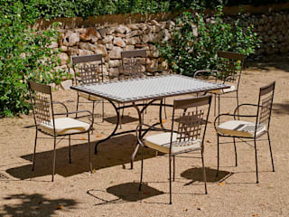 Hevea Garden Furniture Besi/Baja