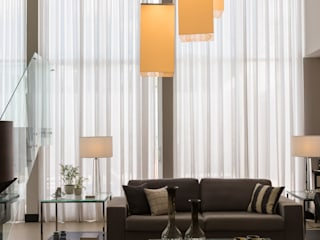 Salas de estilo moderno de Marcelo Lopes Arquitetura Moderno