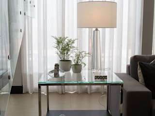 Residência M&N - Foz do Iguaçu - PR - Brasil Salas de estar modernas por Marcelo Lopes Arquitetura Moderno