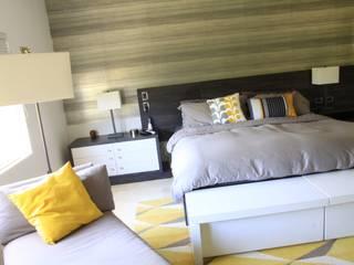 JAVC ARQUITECTOS S.C Modern style bedroom