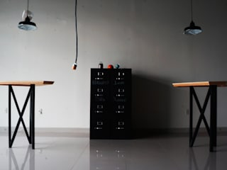 Study/office by CÉRVOL, Industrial