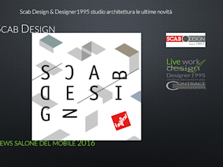 SCAB DESIGN NEWS SALONE DEL MOBILE 2016: Negozi & Locali Commerciali in stile  di Designer1995  Live Work Design
