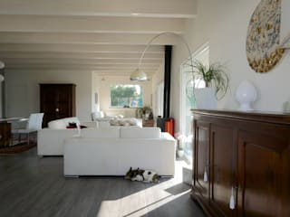 Modern living room by Technowood srl Modern
