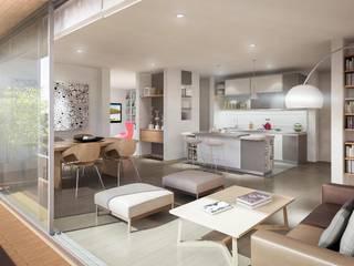 Baumeister Salas modernas de PROYECTO BAUMEISTER Moderno