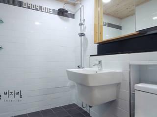 몰운대롯대캐슬 Modern Bathroom by 비자림인테리어 Modern