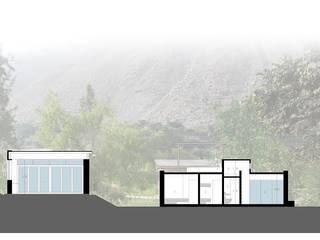 Casa Chontay od Marina Vella Arquitectura Nowoczesny