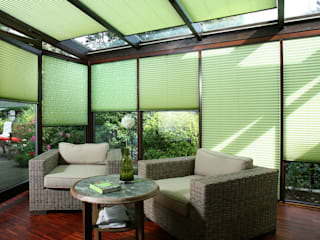 UNLAND International GmbH Balconies, verandas & terraces Accessories & decoration Textile Green