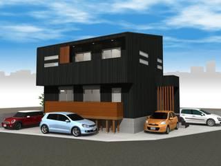 Casas de estilo moderno de i.u.建築企画 Moderno