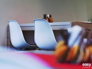 projekt wnętrz makaroniarni - zdjęcie: styl , w kategorii Gastronomia zaprojektowany przez easy project