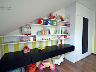 Pokój dziecięcy Nowoczesny pokój dziecięcy od Szalbierz Design Nowoczesny