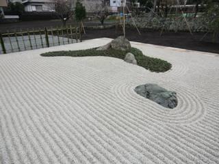 ナチュラル&和の庭 アジア風 庭 の 庭悳みやび 和風