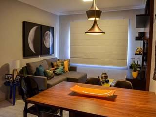 Modern Oturma Odası Rachel Avellar Interiores Modern