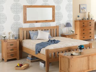 Cherbourg Oak Bedroom Furniture de Asia Dragon Furniture from London Clásico
