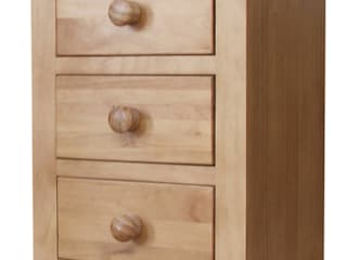 Chunky Pine Bedroom Furniture de Asia Dragon Furniture from London Clásico