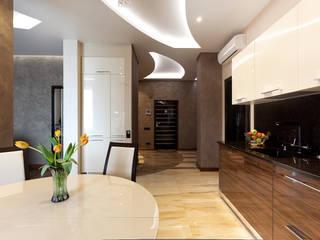 """ЖК """"Клевер"""" Кухня в стиле модерн от Лаборатория Дизайна Модерн"""