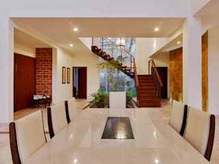 residencia Gallardo Pasillos, vestíbulos y escaleras coloniales de Excelencia en Diseño Colonial