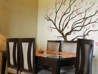3 BHK Apartment in Bengaluru Modern dining room by Cee Bee Design Studio Modern