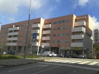 Loteamento de edifícios multifamiliares T2, T3, T4 - Vila Real - Portugal Casas modernas por SILFI - ARQUITETURA, ENGENHARIA E CONSTRUÇÃO Moderno
