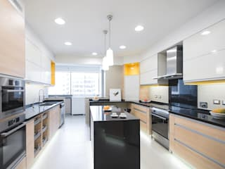 Duo Arquitectura y Diseño Modern kitchen Granite Yellow