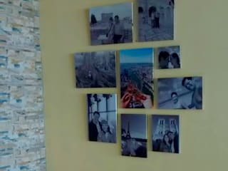 FotoGalerías Personalizadas Paredes y pisos de estilo moderno de Cuarto de Luz: fotografía y decoración Moderno