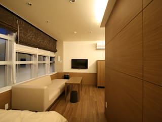 Modern style bedroom by 空想屋 (Koosoya Space Design Lab) Modern