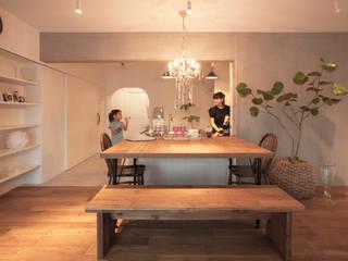 Salle à manger de style  par 株式会社ブルースタジオ, Classique