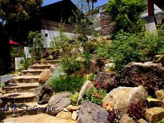 ホビットの庭: グリーンテラス & 風雅伝が手掛けた庭です。,