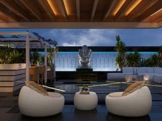 Terrace by Aijaz Hakim Architect [AHA]