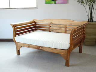 Wood Sofa 【Teak natural】: najamが手掛けたです。