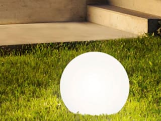 Skapetze Lichtmacher Garden Lighting Bahan Sintetis White