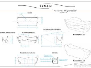 Disegno Tecnico:  in stile  di Giovanni Lorusso Geometra & Interior Designer