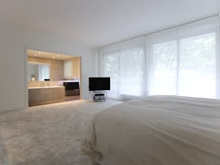 Modern style bedroom by Xavier Lemoine Architecture d'Intérieur Modern