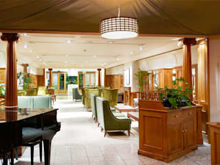 Hilton - Southampton, UK Rethink Interiors Ltd Classic hotels