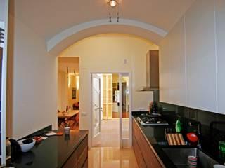 Mediterranean style kitchen by Atres Arquitectes Mediterranean