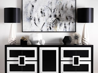 SS16 Style Guide - Refined Monochrome Collection por LuxDeco Moderno