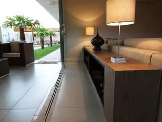 Salas de estilo moderno de BRAVIM ◘ RICCI ARQUITETURA Moderno