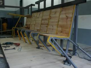 Mueble Operativo TF:  de estilo industrial por 439 estudio , Industrial