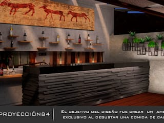 PROYECCIÓN 84 Rustic style bars & clubs