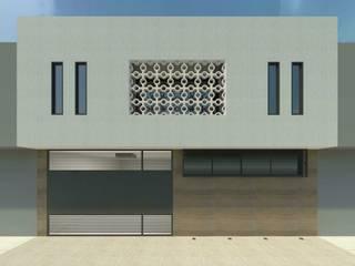 RETROFIT DE FACHADA - OH Casas ecléticas por Daniel Teixeira Arquiteto Eclético